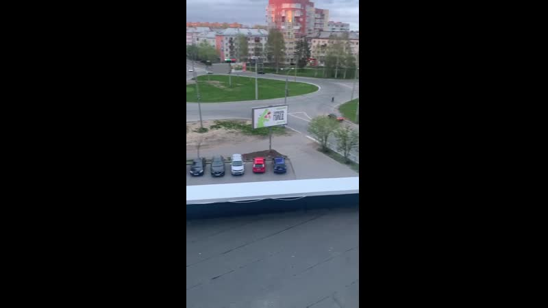 Дрифтёры в центре Архангельска