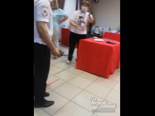 Подозрительные движения на УИК 1821 в Ростове  Ростов-на-Дону Главный
