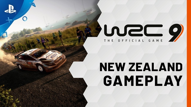 WRC 9 FIA World Rally Championship New Zealand Gameplay Trailer PS4 PS5