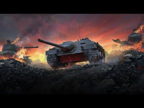 WoT Blitz - Танк Блоха Е25 .Самая фановая😏❓ ПТ САУ
