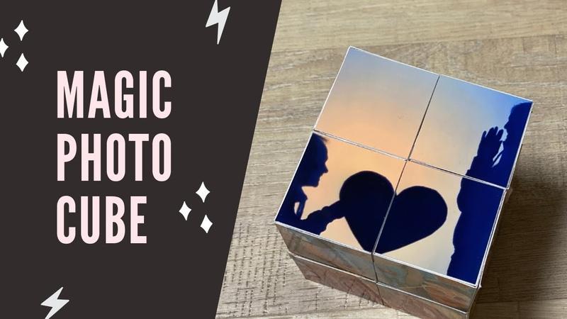 Magic Photo Cube 💟 Tutorial DIY Foto Würfel