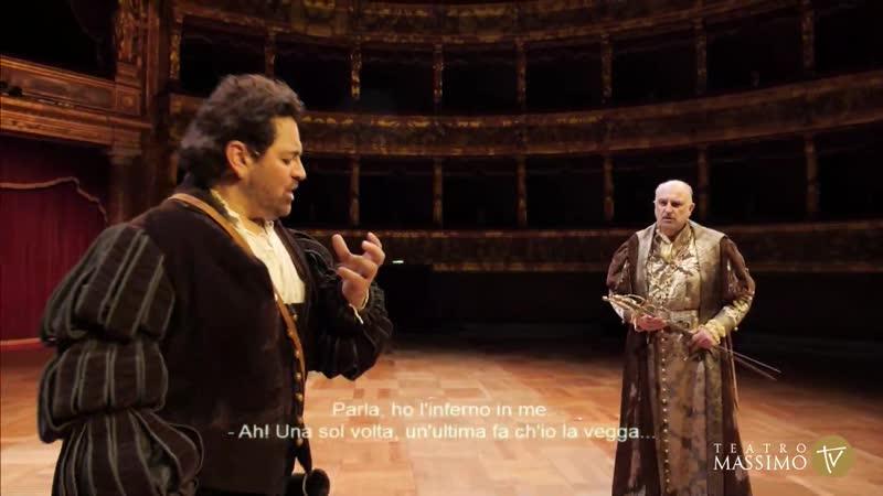 Teatro Massimo Giuseppe Verdi Ernani Wellber L Rajata G Berrugi E Buratto S Piazzola Palermo 26 2 2021